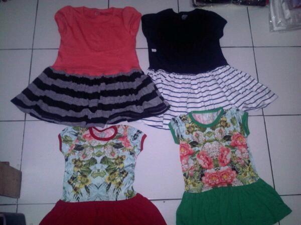 Dress Anak Carter's 1 - 5 Tahun Rp. 17,000 Partai Call Us : 081220123404