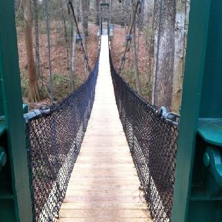 Bridge in Kiroli Park, West Monroe,La