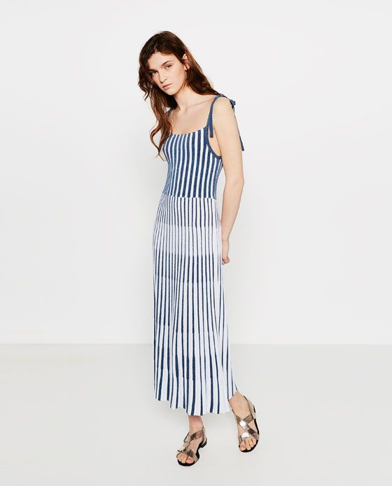 ZARA - NEW IN - LIMITED EDITION TWO TONE DRESS