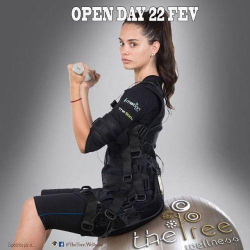 OPEN DAY | Quarta 22 Fev Imotion EMS - Treino personalizado com eletroestimulação - Vinte minutos de treino semanal - Elimina a celulite - Aumenta a circulação sanguinea - Queima gordura localizada - Protege as articulações - Reduz as dores de costas...