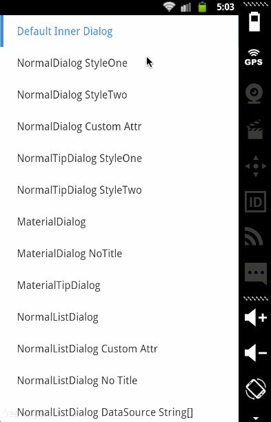 Android Flyco Dialog Matser Library