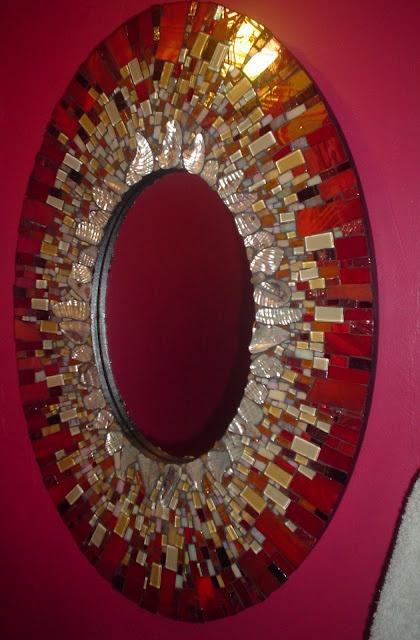 signature mosaic mirror circa 2008