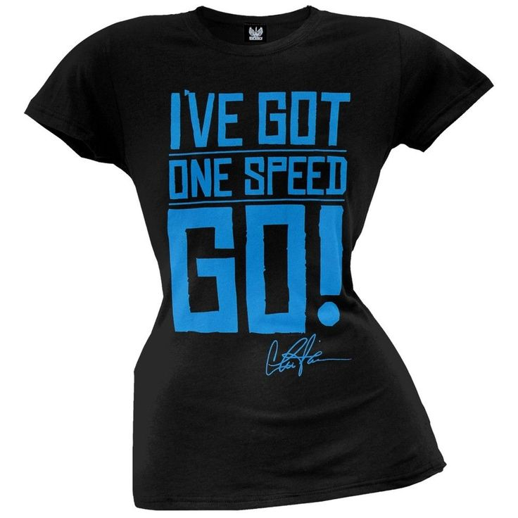 Charlie Sheen - One Speed Juniors T-Shirt
