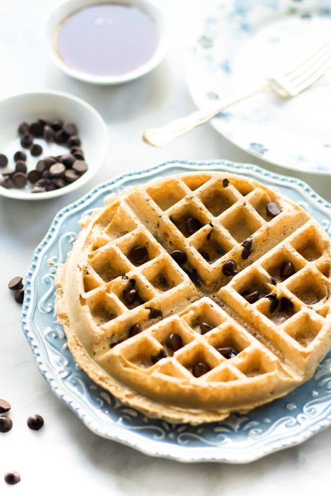 almond butter waffles-3