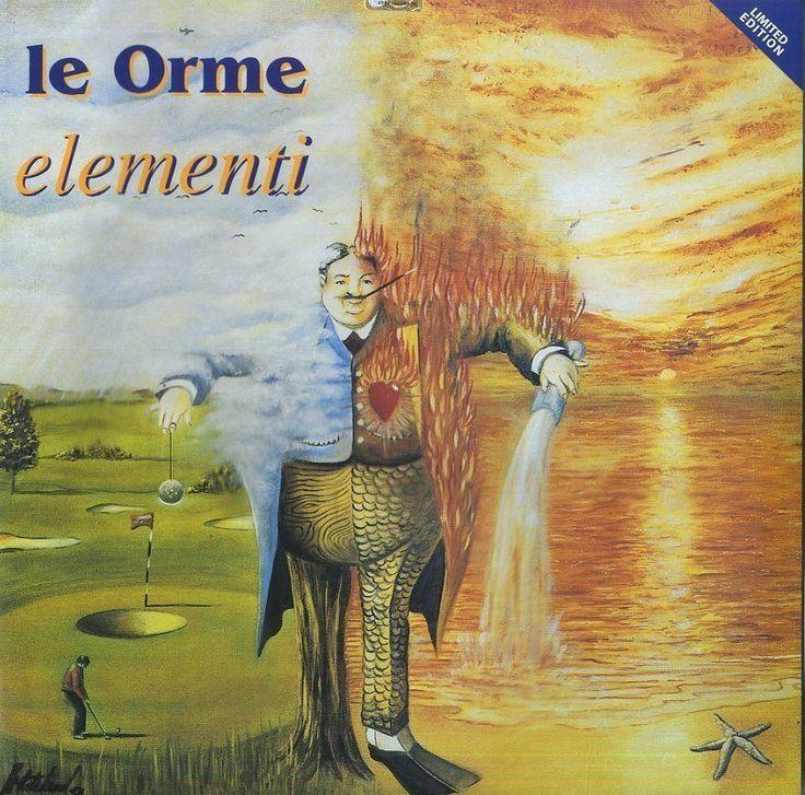 Le Orme - Elementi  Limited Ed. LP Vinile  NuovoClicca qui per acquistarlo sul nostro store http://ebay.eu/2lLfUSy
