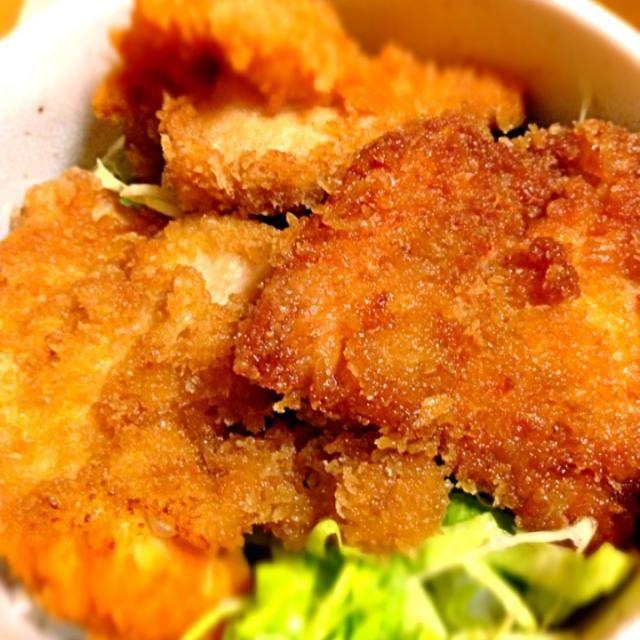 また丼物(;^_^A - 27件のもぐもぐ - 新潟名物タレカツ丼(チキン) by branch