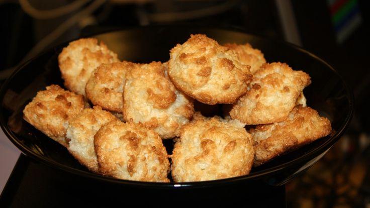 2) Kokosmakroner (gram-oppskrift!)