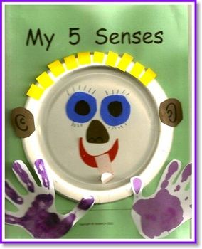 Create this book as you study each of the five senses. There