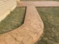 Image result for randomstone stamped concrete with sandstone colors