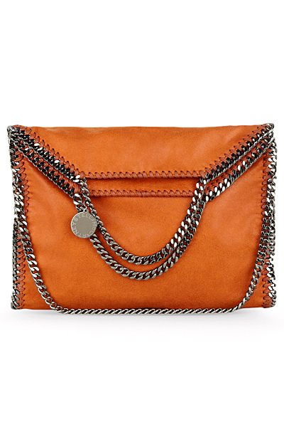 Chains and leather envelope clutch. Stella McCartney you can do no wrong.
