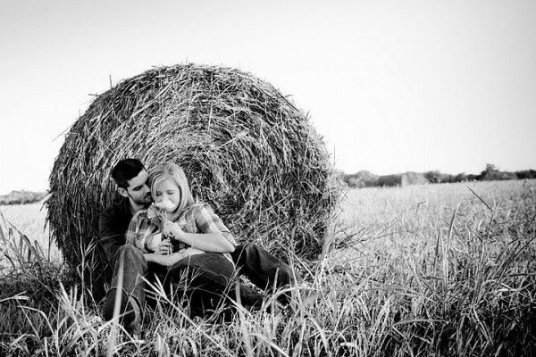 Fun in the hay field