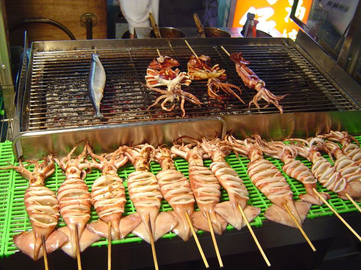 Grilled Squid - Taiwanese cuisine - Wikipedia