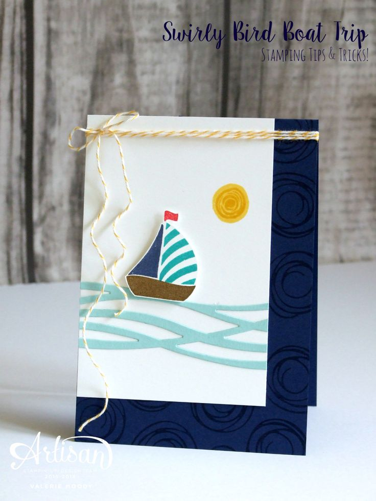 Stampin' Up! - Swirly Bird - Stamping Tips & Tricks - Stamping With Val - Valerie Moody; Idependent Stampin' Up! Demonstrator. X