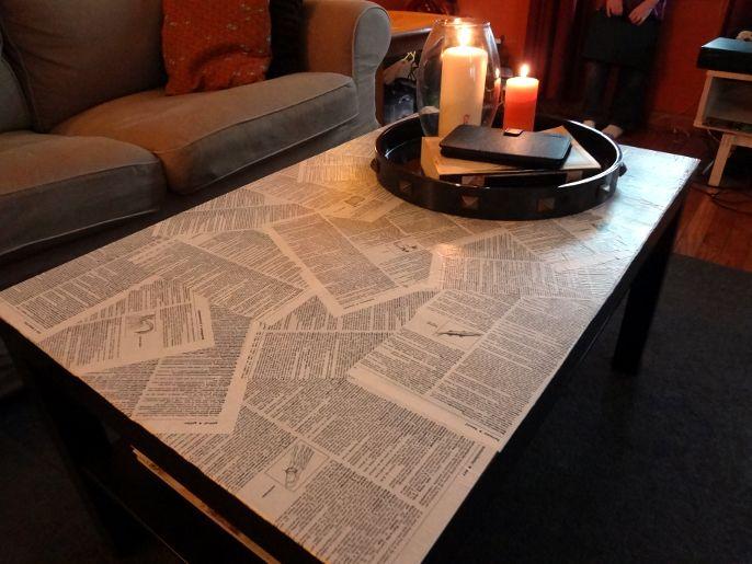 images about Modge podge Furniture, Fabrics