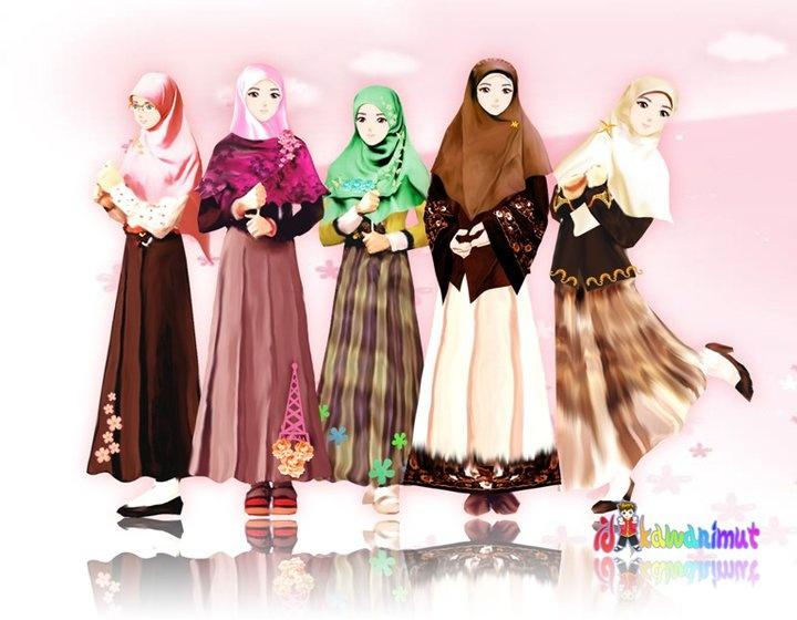 Hijabers Hijab illustration Pinterest
