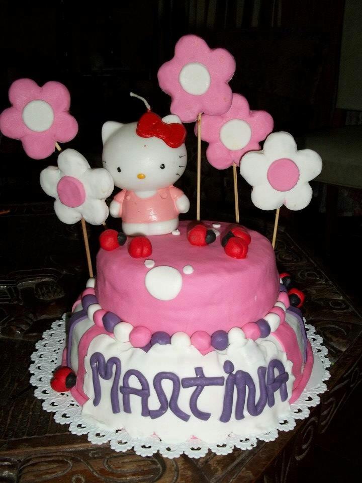 Torta de cumpleaños de mi hija!