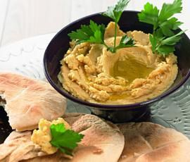 Recept Cizrnová kaše (hummus) od Vorwerk vývoj receptů - Recept z kategorie Pomazánky