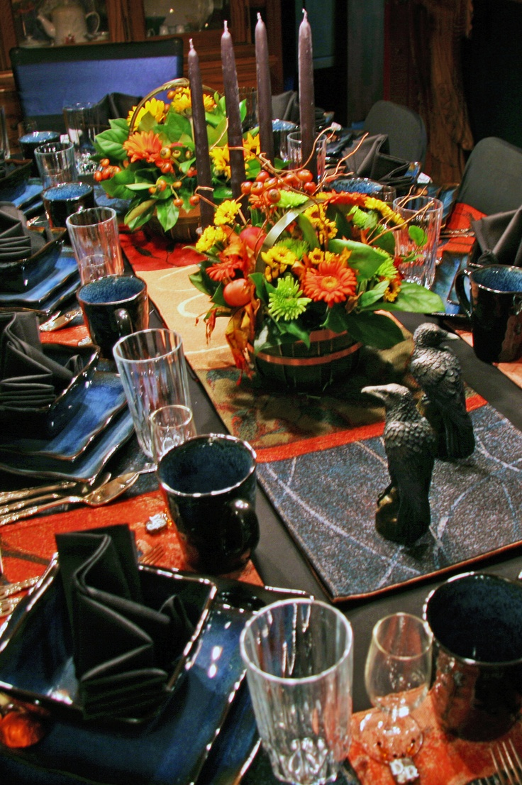 383 Best Halloween Tablescapes Images On Pinterest