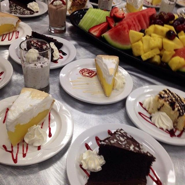 Yummy #dessert! Our grand buffet comes with everything! We want to know - what's your favourite buffet item?