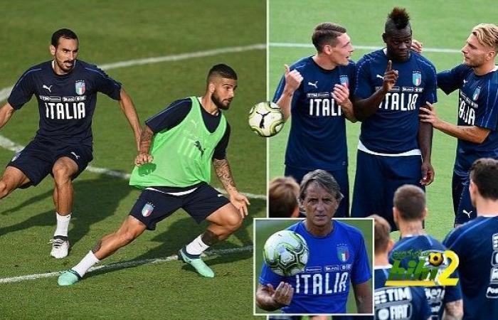 اخبار هاي كورة تدريبات منتخب ايطاليا بقيادة مانشيني With Images Soccer Field