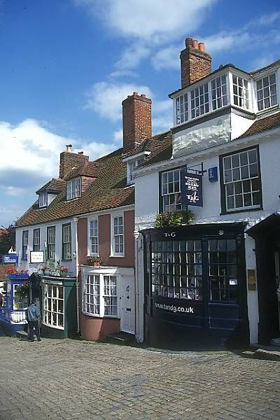 Lymington, UK in New Forest