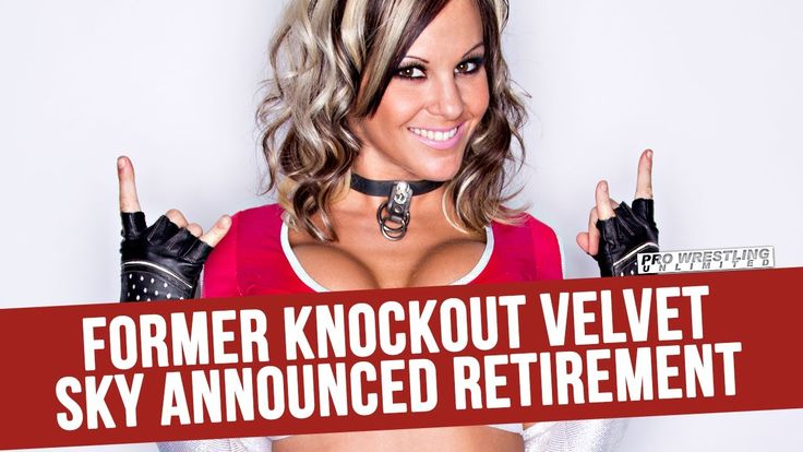 Former Knockout Velvet Sky Announces Her Retirement Pro Wrestling Unlimited is here to provide you the fans all the latest gossip news rumors headlines and more. We are dedicated to informing you on all things pro wrestling for fans by fans. __ Donate To Pro Wrestling Unlimited Free Of Charge http://ift.tt/2AqOy7m Help Upgrade Pro Wrestling Unlimited With Your Donation http://ift.tt/2i0iqAw If You Would Like To Donate To Our Channel Click Here http://ift.tt/2mqtefA Get Your PWU T-Shirt…