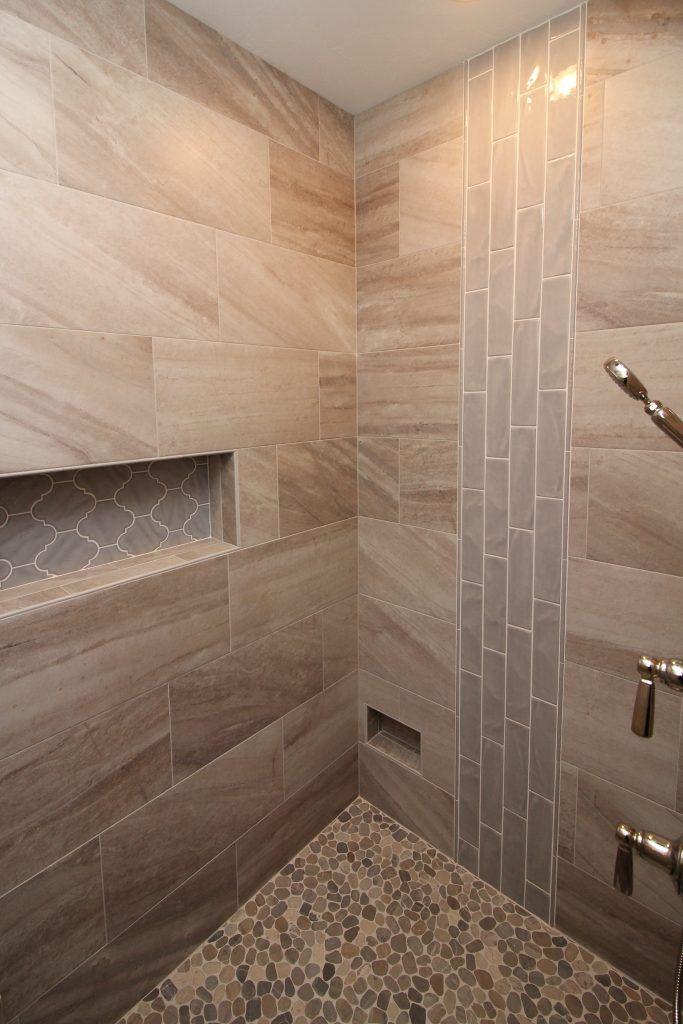 Master Bath Tile Shower In 2020 Master Bath Tile Shower Tile Bathroom Remodel Master