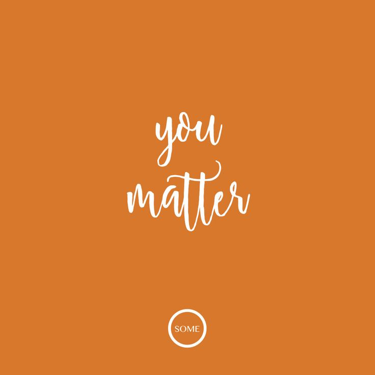 WholesomeZA | You Matter