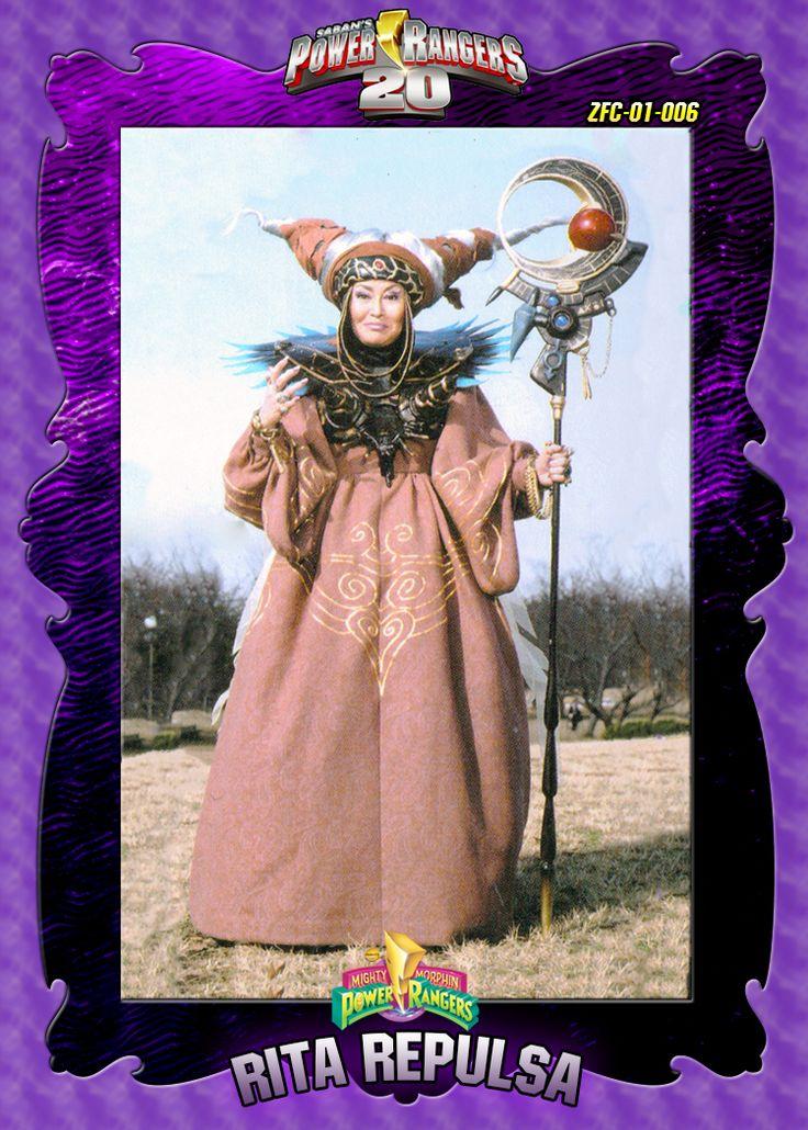 PR20 Custom Trading Card - 01-006 Rita Repulsa by zordonfanclub.deviantart.com on @deviantART
