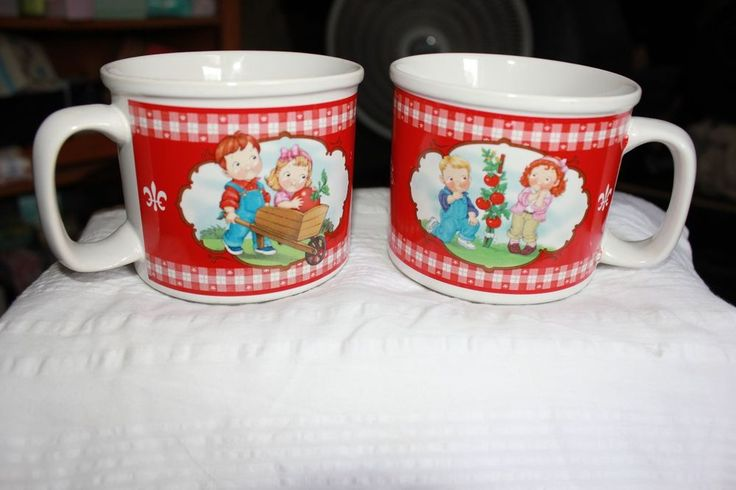 Campbell's Soup Company Houston Harvest 2002 Soup Mug Cup, SET OF 2. #HoustonHarvest