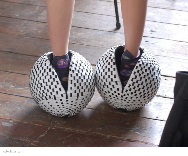 ball shoes. balls on your feet? why not. ball shoes s