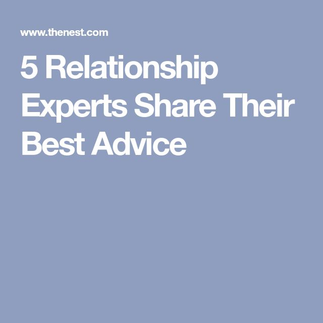 5 Relationship Experts Share Their Best Advice