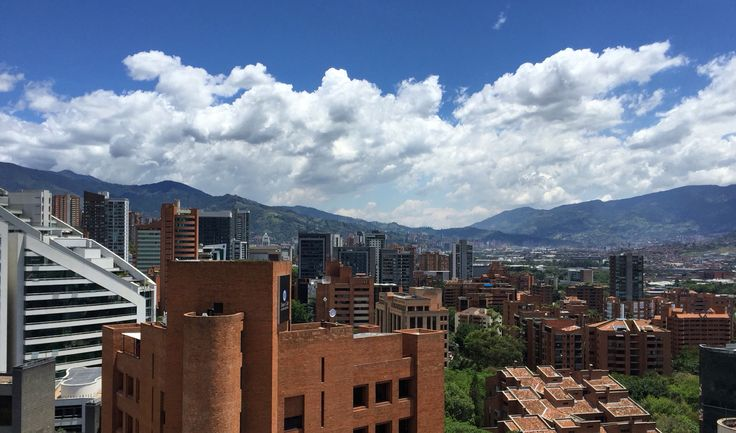 Medellin, Antioquia, Colombia, Sky, Cielo, Clouds, Nubes