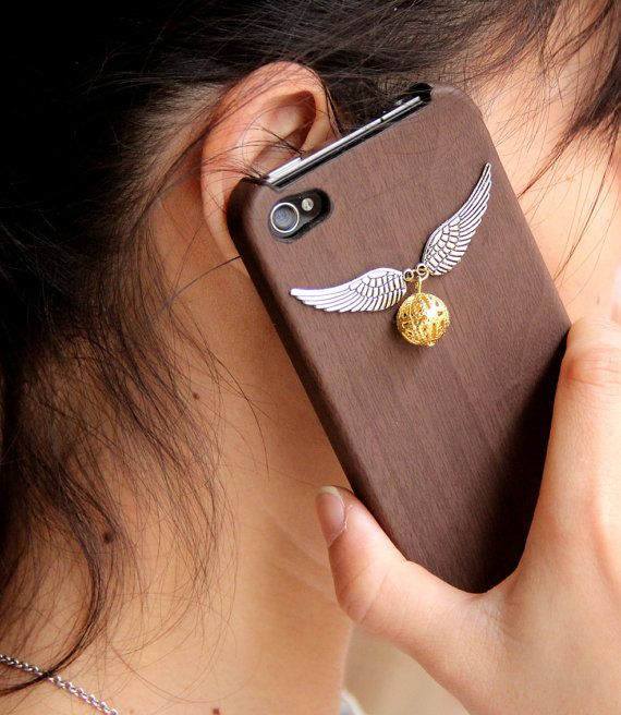 Harry Potter Enchanted Steampunk Golden snitch iPhone 4 Case Cover New Hard Fitted Case For iphone 4 & iphone 4S, Apple iPhone 4 Case. $10.99, via Etsy.
