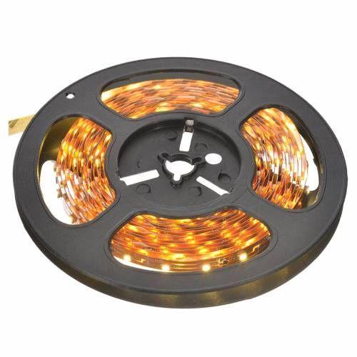 Tiras 5 m luces de Navidad 300 LED blanco cálido adhesivas y flexibles para interior   venta online en HOLYART #tirasdeled