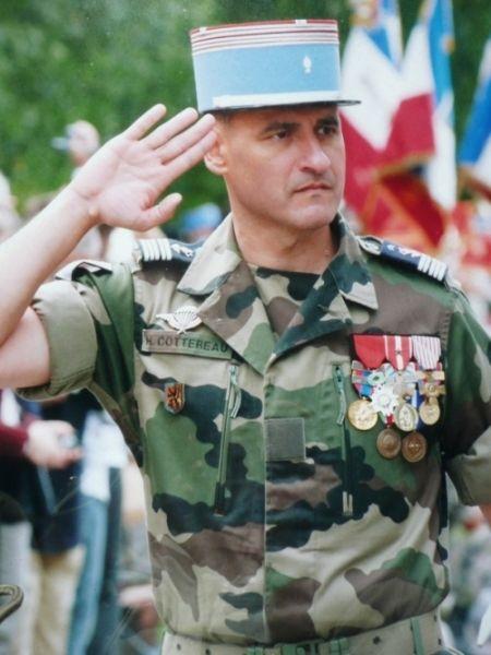 81e Le Colonel Cottereau Galerie des chefs de Corps du 2° Régiment de Hussards