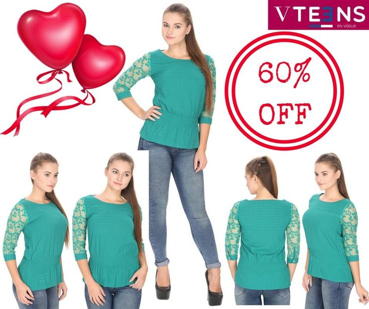 May your clothes be comfy, your coffee be strong and your day be short with these cute tops made up of polyester heather moss georgette which are too cute to not have in your wardrobe. VALENTINE's DAY SALE (60% OFF on any PURCHASE) www.studiovteens.com #valentinesday #valentine #valentinesdayoffer #valentinesdaysale  #vteensenvogue #onlinestore #storeonline #onlineshop #fashion #fashionista #fashionblogger #fashionblog #fashionable #fashionstyle #style #styles #styleblogger #styleblog…