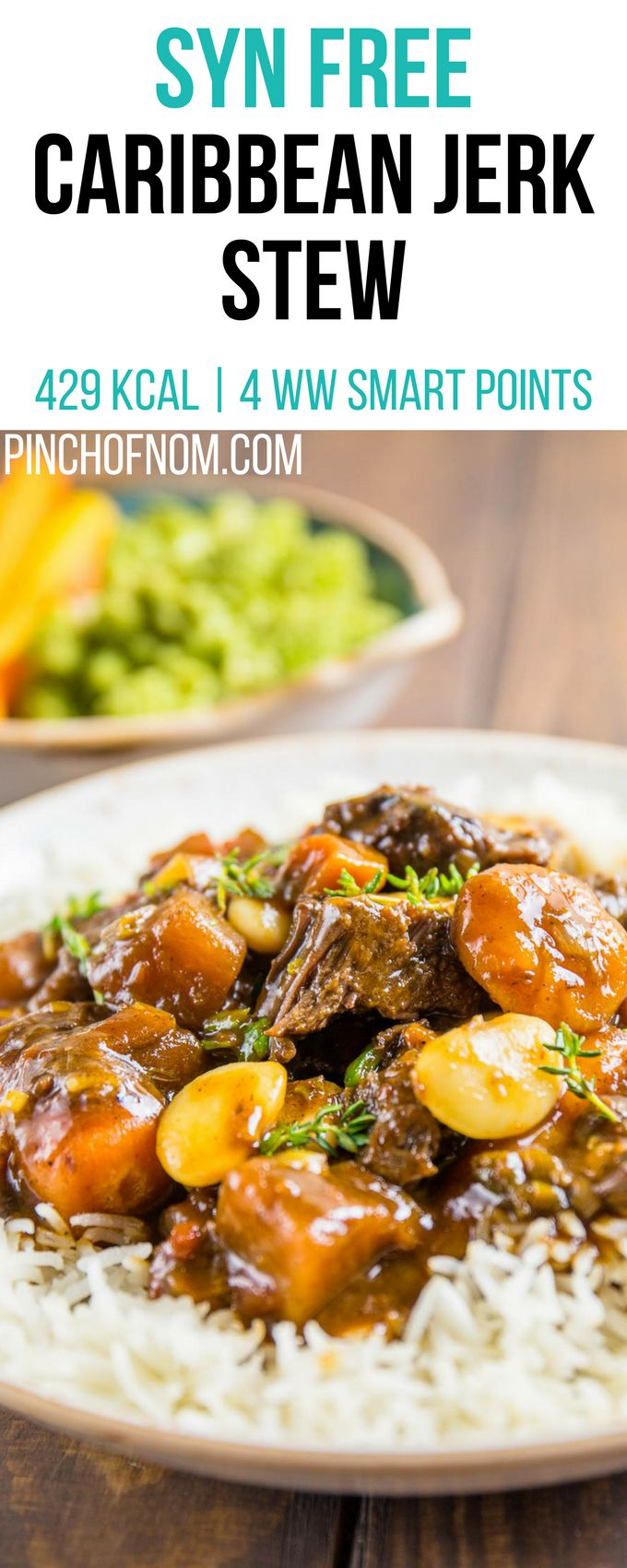 Syn Free Caribbean Jerk Stew | Pinch Of Nom Slimming World Recipes    429 kcal | Syn Free | 4 Weight Watchers Smart Points