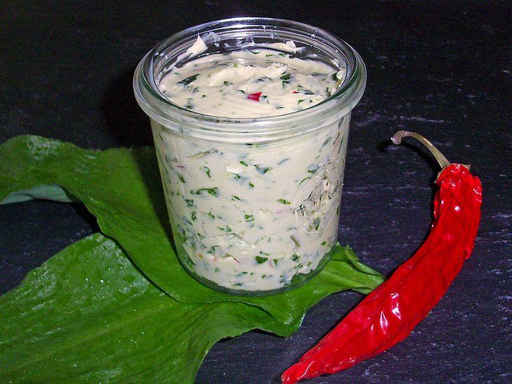 Bärlauch-Chili Butter
