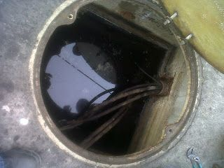 SEGURIDAD CON LA ELECTRICIDAD: Registros electricos con agua