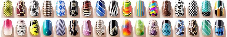 Digital nail printing