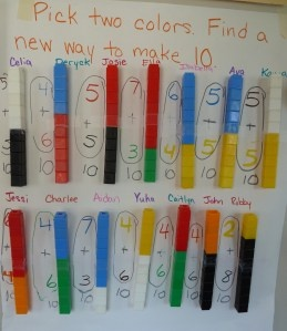 Making Sets of 10 in PreK - Beginning Addition