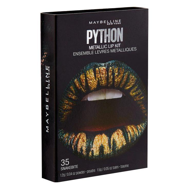 Maybelline Lip Studio Python Chrome 07 Shade 7 0.08 oz, Gold