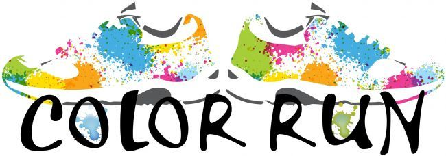 Fun (and free!) clipart if you're organizing a color run.   Clip ...