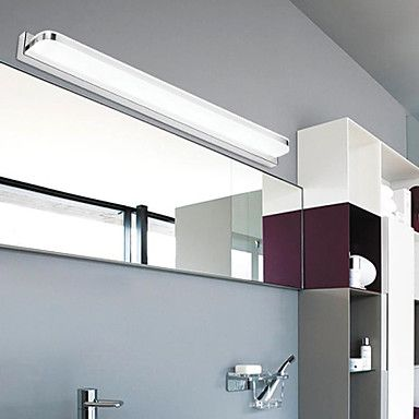 Oświetlenie Łazienkowe / Wall Washers / Oświetlenie Ścienne do Czytania LED / Styl MIni / Zawiera żarówkę Nowoczesne/ współczesne Metal 4493608 2016 – $51.99   42 cm