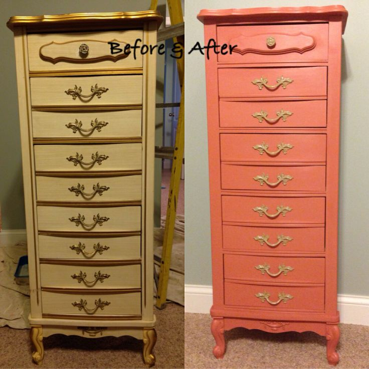 Chalk Paint Bamboo Furniture