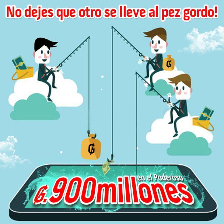 Vos podés ser el ganador de este pozo poderoso!!! 😍🤑 Por solo Gs. 10.000 jugá #senete #cheporemoi 🍀
