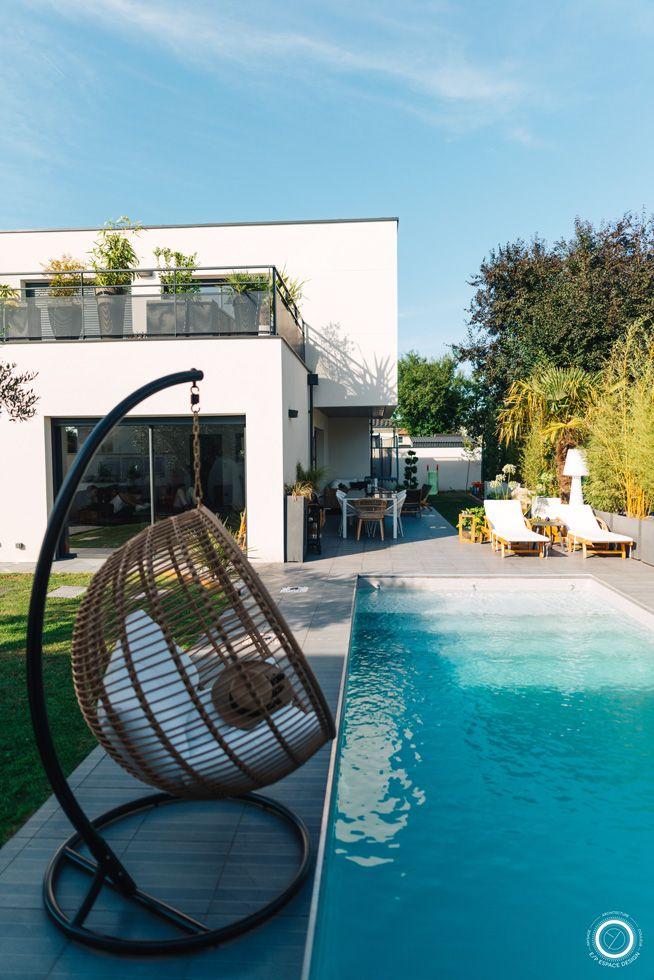 Un Jardin Moderne Et Exotique Jardin Moderne Decoration Jardin