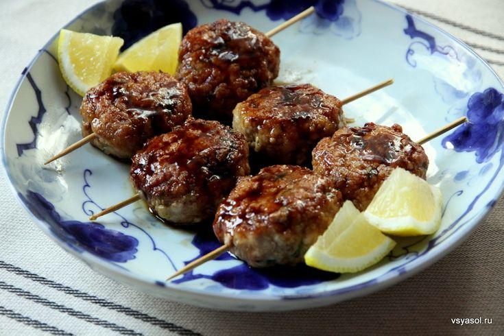 Цукунэ, японские мини-бургеры с соусом терияки – Вся Соль - кулинарный блог Ольги Баклановой