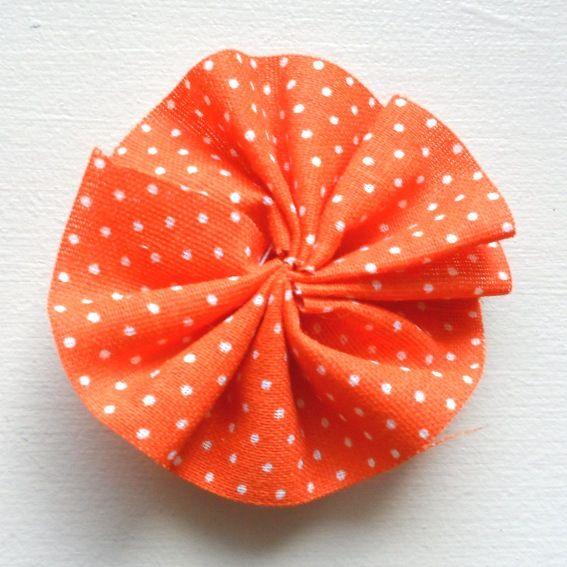 ribbon flower -Elise Engh and Grow Creative